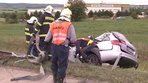 Zásah při dopravní nehodě