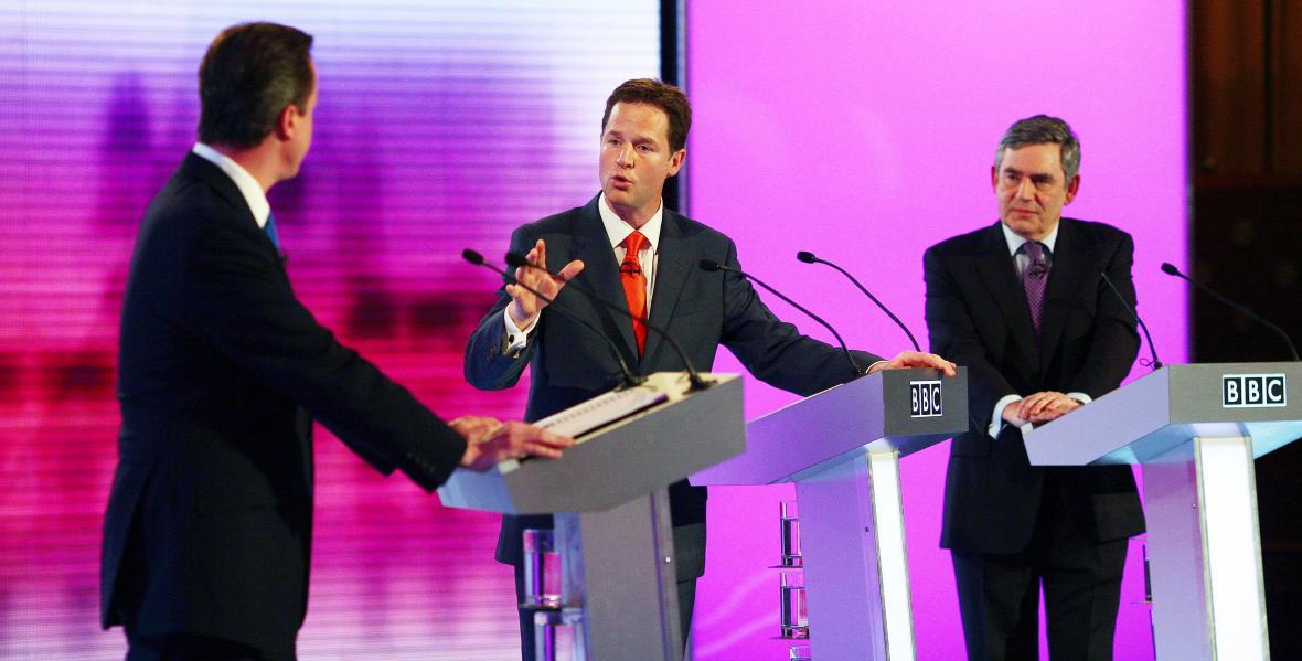 Předvolební debata v Birminghamu
