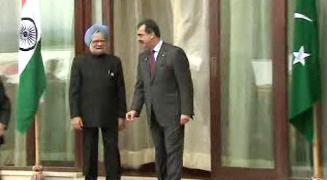 Manmóhan Singh a Júsuf Ráza Gílání