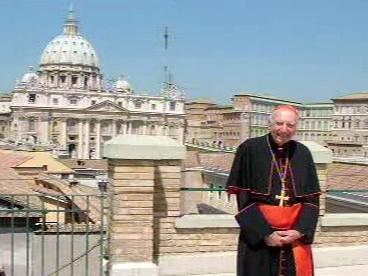 Kardinál Špidlík v Římě