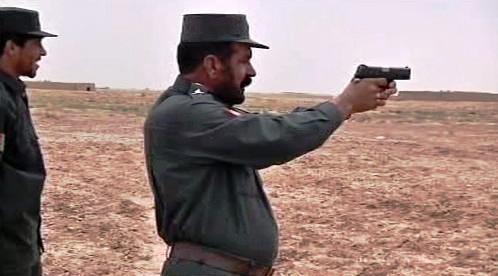 Výcvik afghánských policistů