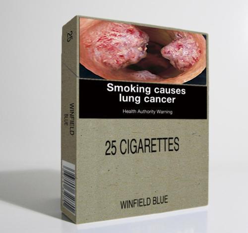 Australský návrh zákona má unifikovat vzhled krabiček cigaret