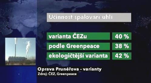 Varianty pro opravu elektrárny v Prunéřově