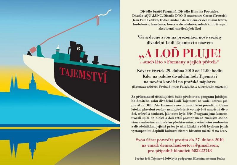 Loď Tajemství / plakát