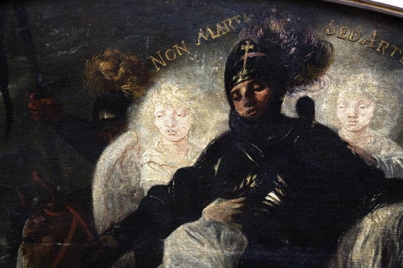 Karel Škréta / Zlický kníže Radslav se pokořuje sv. Václavu
