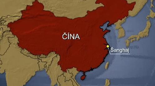 Mapa Číny