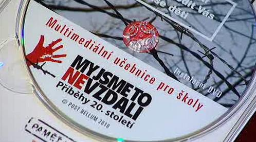 DVD k výuce moderních dějin
