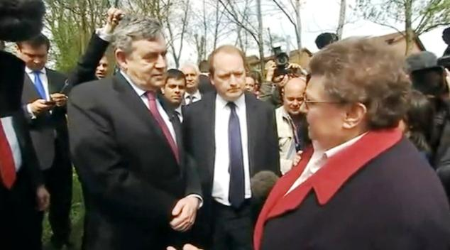 Gordon Brown a Gillian Duffyová