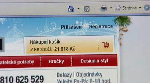 Nákup přes internet
