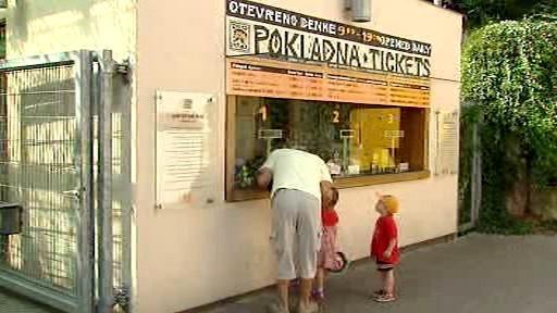 Prodej vstupenek v pražské zoo