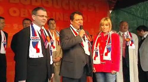 Zahájení předvolební kampaně ČSSD