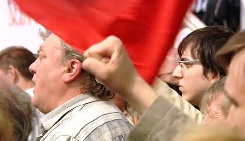 Komunisté na prvního máje