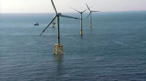 Větrná elektrárna Alpha Ventus