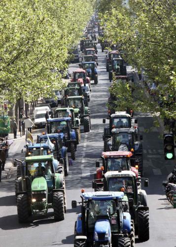 Stávka francouzských zemědělců