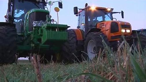 Stávka traktoristů