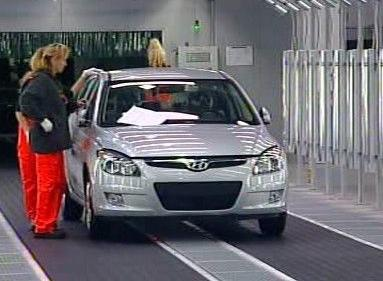 Hyundai i30 z Nošovic