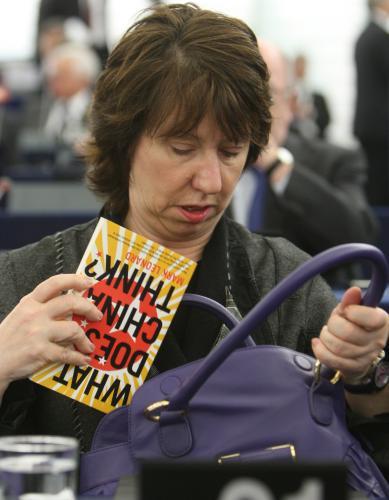Evropská ministryně zahraničí Catherine Ashtonová