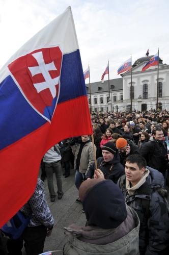 Protest proti vlasteneckému zákonu