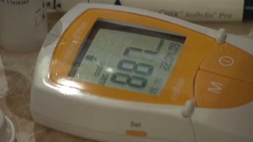 Měření cukru v krvi