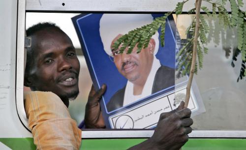 Súdánci slaví Bašírovo vítězství ve volbách