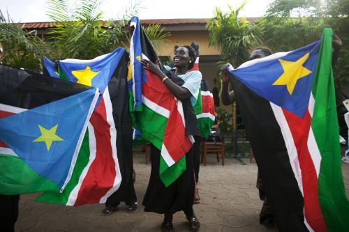 Súdánci slaví vyhlášení volebních výsledků