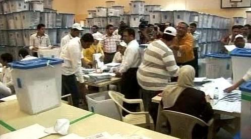 Sčítání hlasů v Iráku