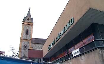 Bývalé nákupní centrum