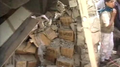 Výbuch dynamitu v Jemenu