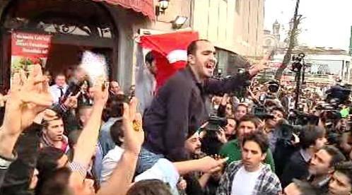 Manifestace v Turecku