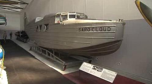 Trup letounu SARO 19 Cloud