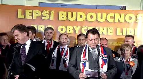 Miloslav Vlček a Jiří Paroubek
