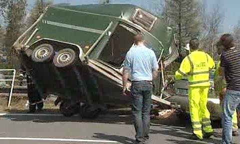 Likvidace následků nehody