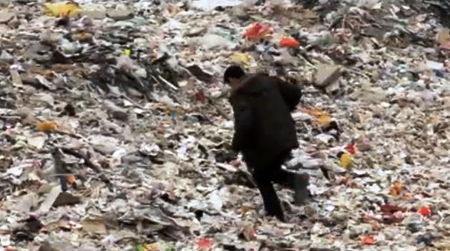 Skládky v okolí Pekingu