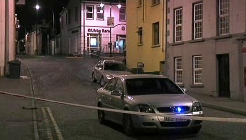 Policie vyšetřuje výbuch v severoirském Newtownhamiltonu