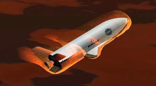 Model kosmické lodi X-37