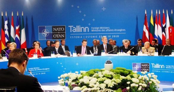 Schůzka ministrů zahraničí NATO v estonském Tallinnu