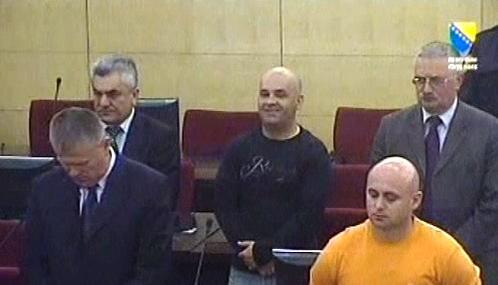 Radomir Vuković a Zoran Tomić před soudem