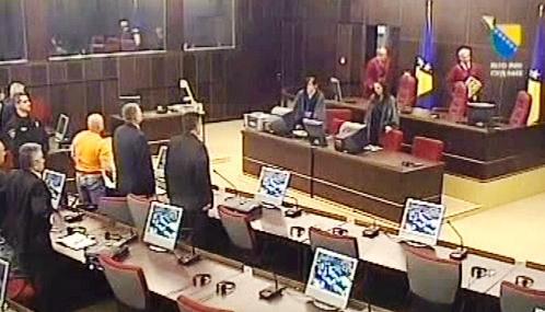 Soud v Bosně