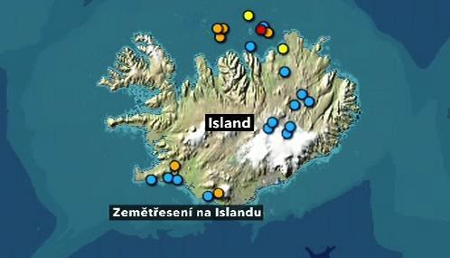 Zemětřesení na Islandu 22. dubna 2010