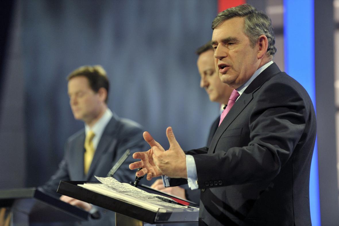 Předvolební debata v Manchesteru