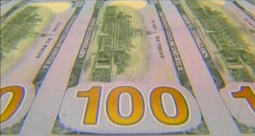 Nová stodolarová bankovka