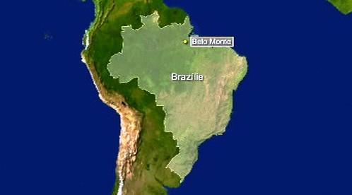 Belo Monte - přehrada