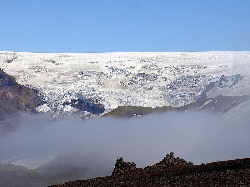 Ledovec Myrdalsjökull