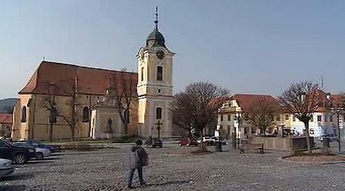 Náměstí v Týně nad Vltavou