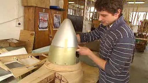 Nadšenci sestavují repliku letounu Zlín 13