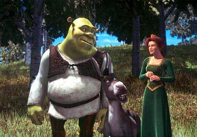 Shrek s rodinkou
