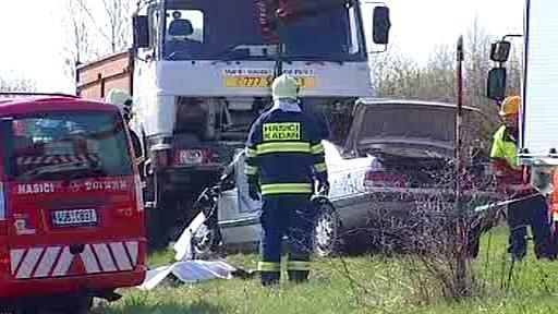 Tragická nehoda na Chomutovsku