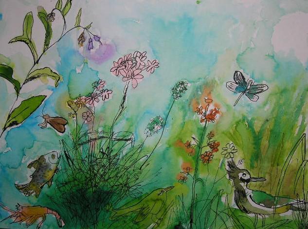 Práce ze soutěže Příroda kolem nás