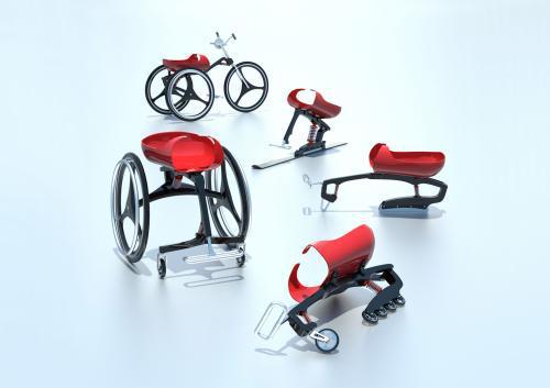 Variabilní vozík Trilobit