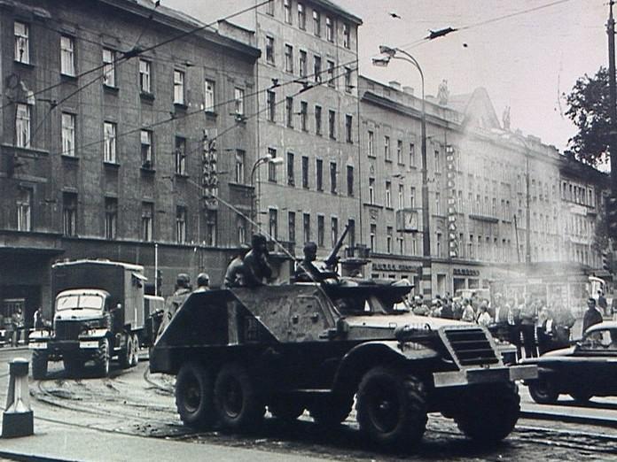 Srpnová invaze v roce 1968